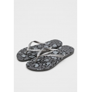 Chinelo Havaianas Cinza Feminino Slim Animals