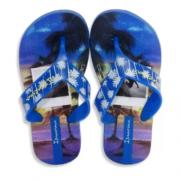 Chinelo Ipanema Azul/Preto Masculino 25759 Deck