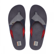 Chinelo Kenner Cinza/Azul Masculino DAP-02 Kasual Conquest Wide