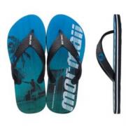Chinelo Mormaii Preto/Azul Masculino 11538 Tropical Pro II