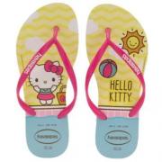 Chinelos Havaianas Branco Feminino Hello Kitty