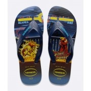 Chinelos Havaianas Marinho Masculino Top Max Street Fighter