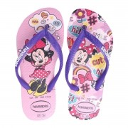 Chinelos Havaianas Rosa Feminino Disney Cool
