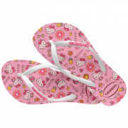Chinelos Havaianas Rosa Feminino Hello Kitty