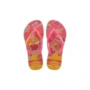 Chinelos Havaianas Rosa Feminino Kids Slim Princess