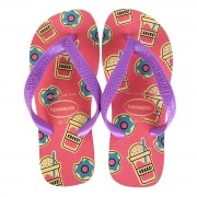 Chinelos Havaianas Rosa Feminino Top Fashion