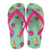 Chinelos Havaianas Verde Feminino Top Fashion