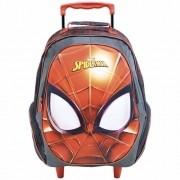Mochila Xeryus Vermelho Masculino 8640 Spider Man C/Rodas