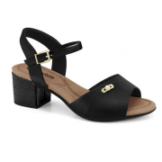 Sandália Comfort Flex Preto Feminino 21-57403