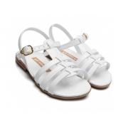 Sandalia Pe Com Pe Branco Feminino 800039