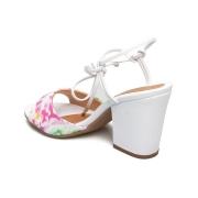 Sandalia Ramarim Tie Dye Branco Feminino 20-42202