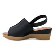 Sandália Usaflex Preta Feminino AC5708