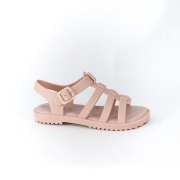 Sandalia World Colors Nude Feminino 086.004