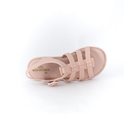 Sandalia World Colors Nude Feminino 086 004