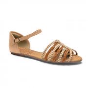 Sandálias Mississipi Caramelo/Amêndoa Feminino Q4822