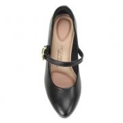 Sapato Modare Preto Feminino 7305.434