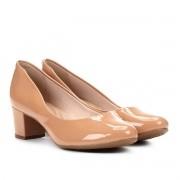 Sapato Salto Baixo Beira Rio Nude Feminino 4777.309