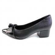 Sapato Salto Baixo Modare Preto Feminino 7340.102