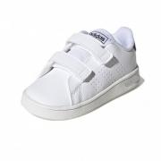 Tênis Adidas Branco Maculino Advantage C velcro