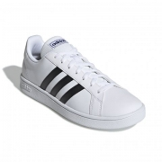 Tenis Adidas Branco/Preto Feminino Grand Court Base