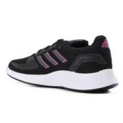 Tênis Adidas Preto/Lilas Feminino Runfalcon 2.0