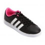 Tenis Adidas Preto/Pink Feminino Vs Advantage