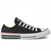 Tenis All Star Preto/Verde Feminino Ct1432