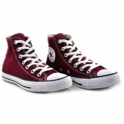 Tenis Cano Alto All Star Bordo Feminino Ct0004