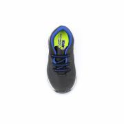 Tenis Kidy Preto/Azul/Cinza Masculino 007-0574