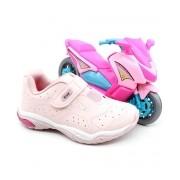 Tenis Kidy Preto/Pink Feminino 007-1592