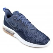 Tenis Nike Azul Masculino Air Max Sequent 4