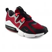 Tenis  Nike Vermelho/Preto Masculino Air Max Infinity