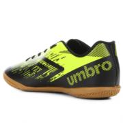 Tênis Umbro Preto/Verde Limão Masculino ACID II Infantil