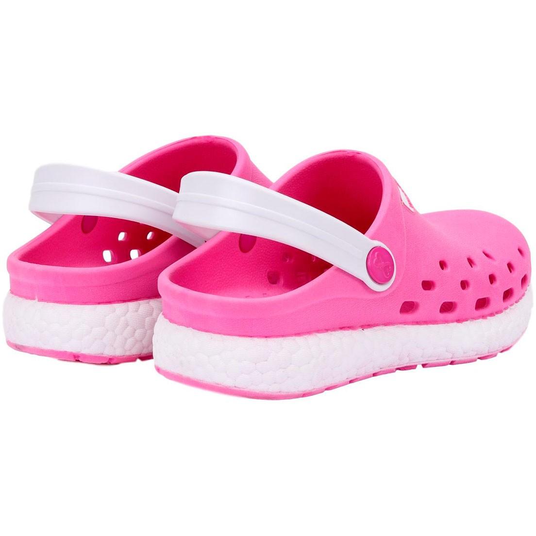Babuche World Colors Pink/Branco Feminino 129.0021507