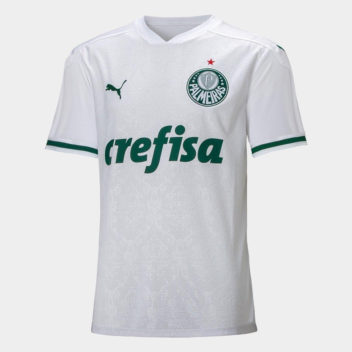 Camisa Puma Branco Masculino 704715 Palmeiras