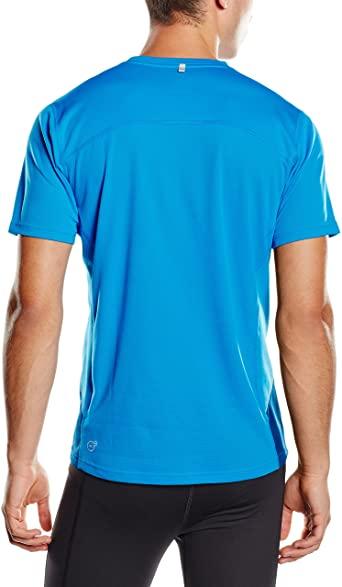 Camiseta  Puma Azul Masculino 512689