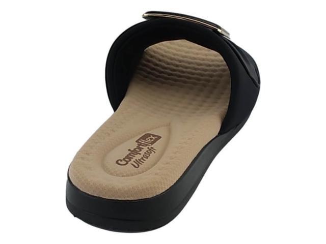Chinelo Comfort Flex Preto Feminino 19-44404