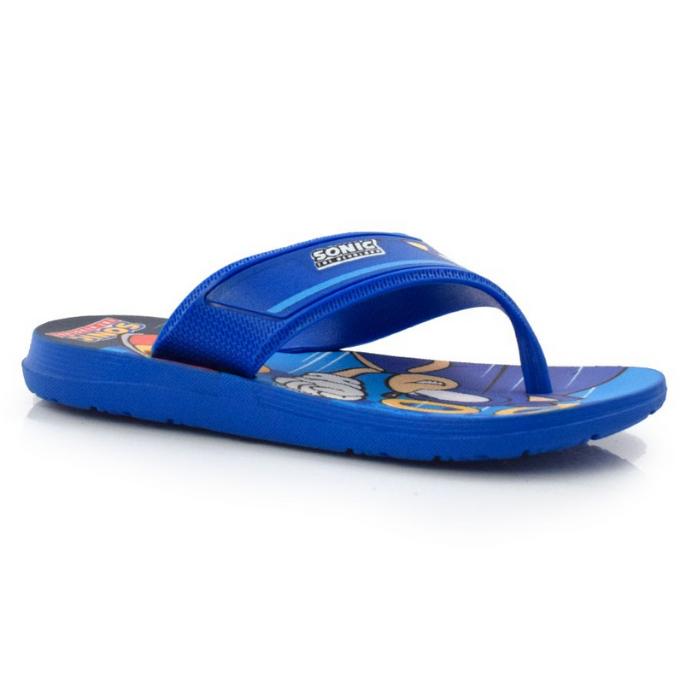 Chinelo Grendene Azul Masculino 22591 Sonic Speed