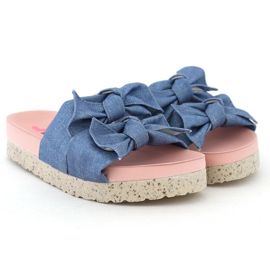 Chinelo  Molekinha Jeans Feminino 2320.306