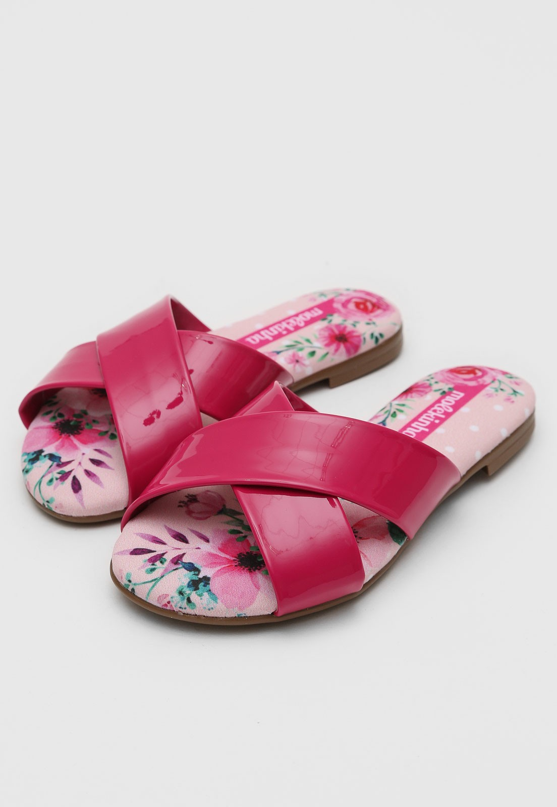 Chinelo  Molekinha Pink Feminino 2308.101