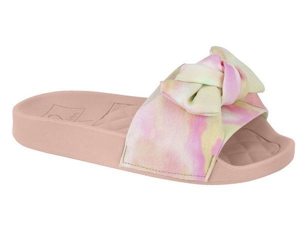 Chinelo Molekinha Tie Dye Multicolor Feminino 2311.103