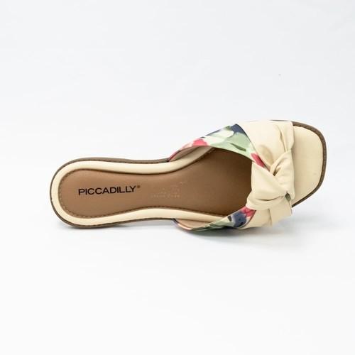 Chinelo Piccadilly Bege Feminino 508020