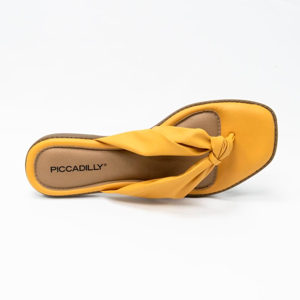 Chinelo Piccadilly Mostarda Feminino 508022