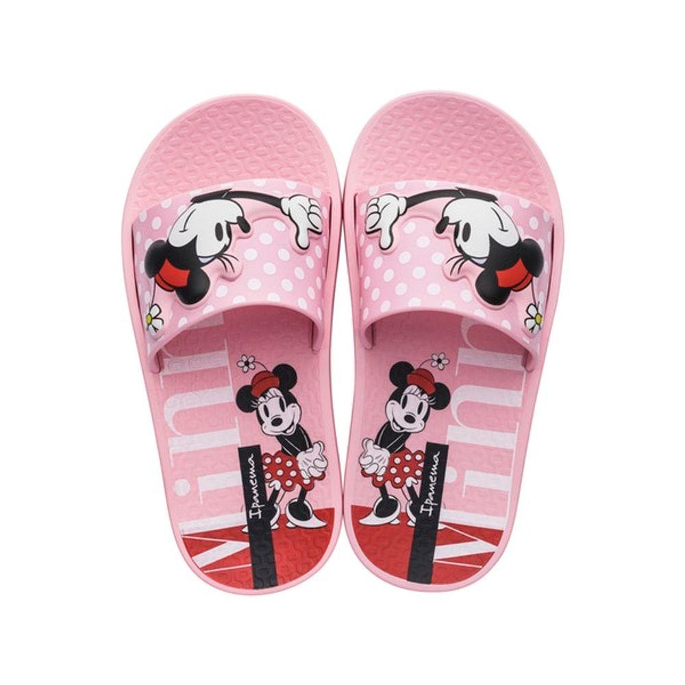 Chinelos Ipanema Rosa Feminino 26424 Disney Slide