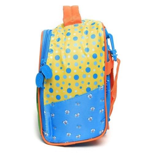 Lancheira Xeryus Azul/Amarelo Padrão 7254 Galinha Pintadinha