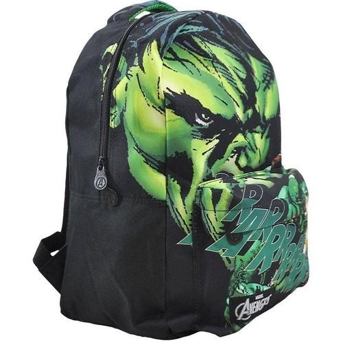 Mochila Xeryus Preto/Verde Masculino 8075 Avengers