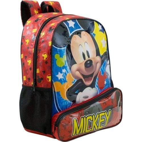 Mochila Xeryus Vermelho/Preto Masculino 8963 Mickey