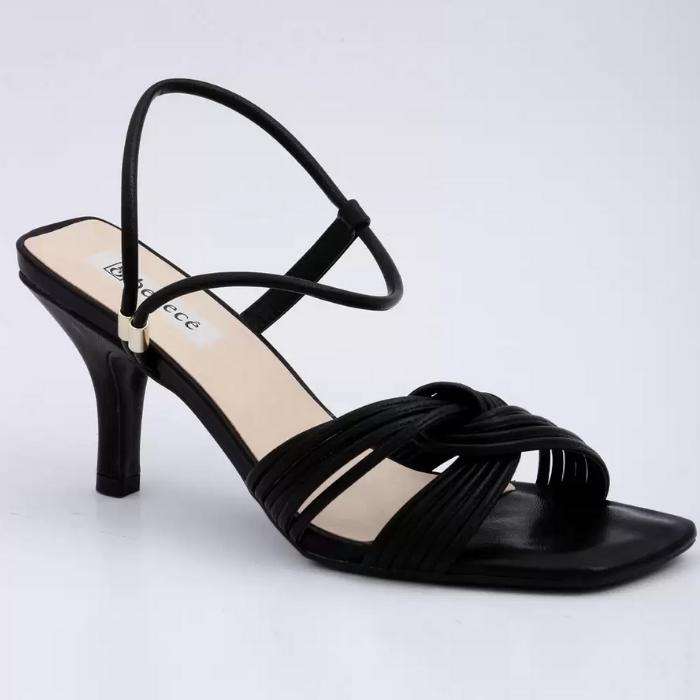 Sandália Bebecê Preto Feminino T6023-181