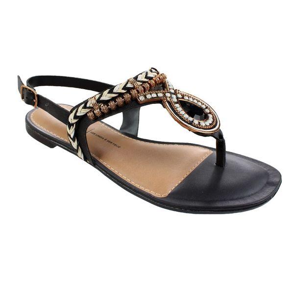 Sandalia Dakota Preto Feminino Z5652