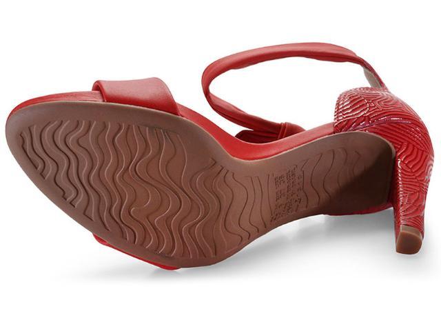 Sandalia Dakota Vermelho Feminino Z5632